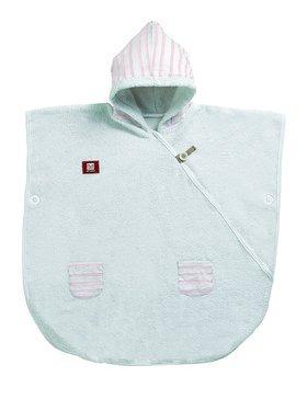 Пончо - білий/рожевий (морячок)
