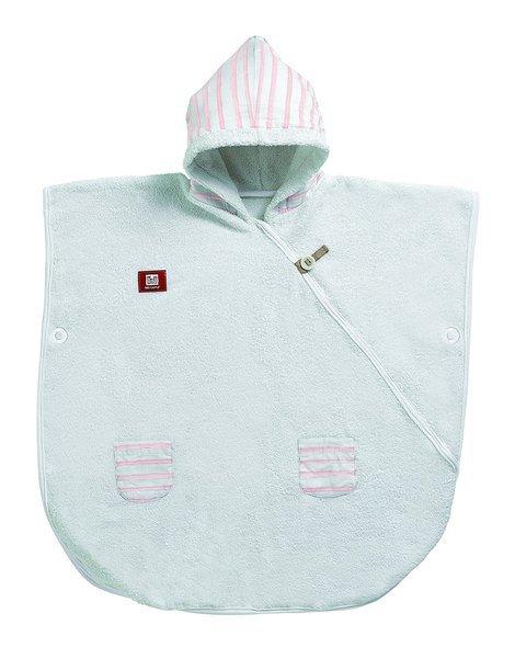 Пончо - білий/рожевий (морячок), 0307164