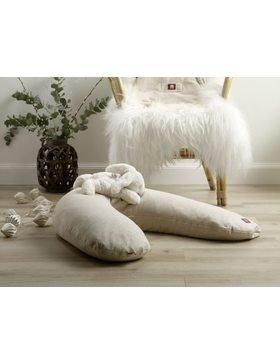 Подушка для вагітних і годуючих мам Big Flopsy утеплена - бежевий