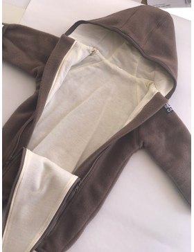 Комбінезон Zip Up - 6 міс. - коричневий