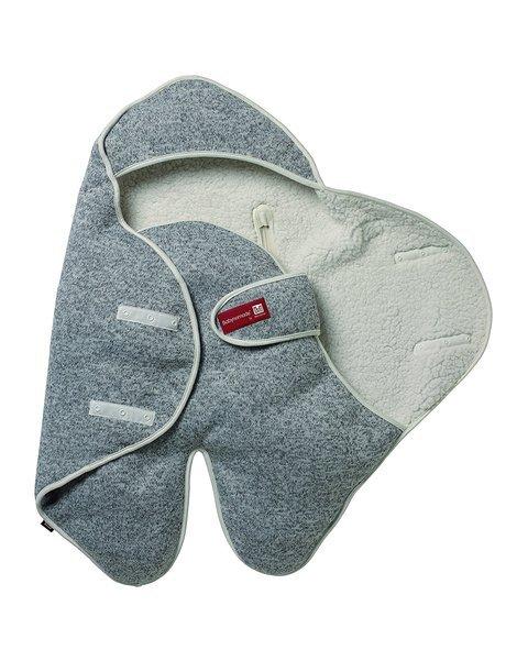 Конверт Babynomade Snug - сірий / 0-6 міс., 083408